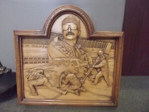 DALE EARNHARDT THE INTIMIDATOR 1951-2001 CARVING REPRODUCTION Windsor Region Ontario image 1