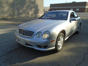 2002 Mercedes-Benz CL-Class CL55 AMG Coupe