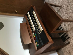 Lowrey Carnival organ in great working condition.
