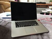 "2014 MacBook Pro 15"" Retina Display 