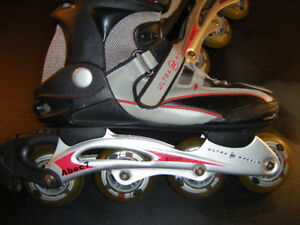 Mens Size 9 Apec 7 Roller Blades Used Twice