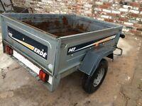 Erde 142 tipping trailer / gardener / tip runs / car booter / camping etc