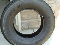 1 set of 4 LT275/70R18 Firestone Transforce HT TIRES