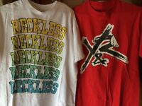 Young and Reckless t shirts