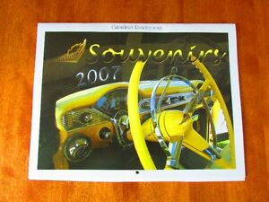 SUPERBE CALENDRIER 2007 DE VOITURES ANCIENNES