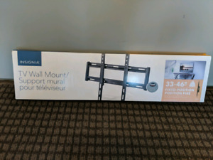 """Television wall mount 33""""-46"""" - fixed - unopened/new"""