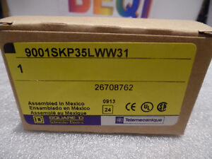 LED Push Button Switch White Brand New Square D Schneider Ele S