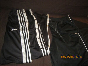 MENS COMFY ADDIDAS AND ATHLETIC WORKS PANTS