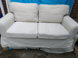 Two seater and two arm chair