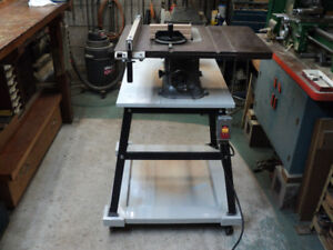 """Craftmaster 8"""" Table Saw -- Tilting Table Type"""
