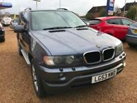 2003 BMW X5 3.0d Automatic Sport Servicve History 9 Stamps and service invoices