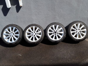 """225/45/17 new winter tires with original 17"""" Lexus mags & tpmsx4"""