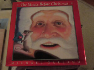 The Mouse Before Christmas - Michael Garland  Adorable!!