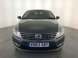 2013 63 VOLKSWAGEN CC GT BLUEMOTION TECH TDI 1 OWNER VW SERVICE HISTORY FINANCE