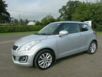 2014 SUZUKI SWIFT 1.2 SZ3 3DR ONLY 59K £30 ROAD TAX 2 OWNERS CLIO IBIZA FIESTA