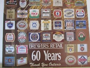 BREWERS RETAIL POSTER