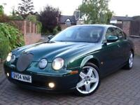2004 Jaguar S-TYPE 4.2 V8 R (400 bhp) auto..VERY RARE..EYE CATCHING COLOUR COMBO