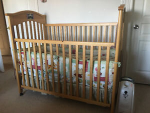 Great crib and excellent spring mattress