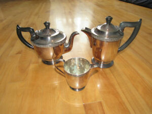Sheffield Silver-plated tea and coffee set