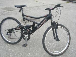 RALEIGH – Tora, Full Suspension Mountain Bike