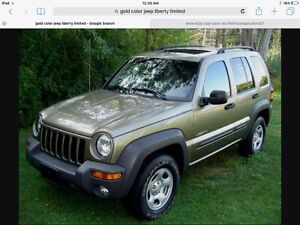 2005 Jeep Liberty limited for parts