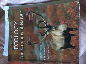 BIO205 ecology text, notes, past tests and assignments