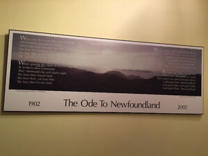 Looking For: Ode to Newfoundland Print by Ray Fennelly