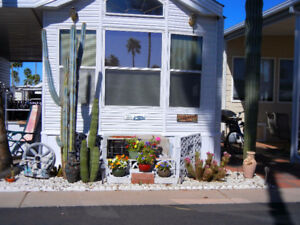 Park model rental at Towerpoint Resort in Mesa, Arizona