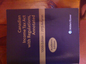 Canadian Income Tax Act, 100th Edition