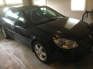 2009 Pontiac G5 Black with grey int Sedan