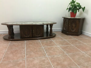 A set of two Pieces Coffee Table