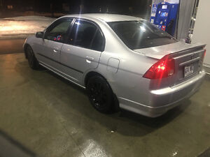 2005 Honda Civic GX L full equipe Berline