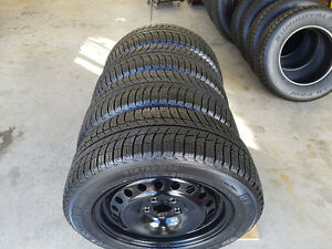 MICHELIN 215/55r16 X-ICE WINTER TIRES ON FORD RIMS
