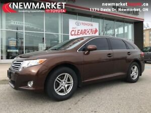 2010 Toyota Venza 4DR WGN  - one owner - local