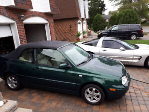 2001 VOLKSWAGEN CABRIOLET  LADY OWNED