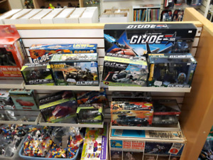 Tons of G.I. Joe toys for sale