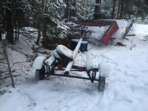 Home made Boat Trailer