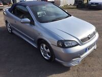 Vauxhall Astra cabriolet 54000 miles