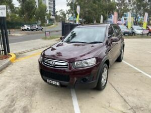 2011 Holden Captiva 7 Seat 4 Cylinder Automatic low km 142,000 JUN 2021 Rego  Mount Druitt Blacktown Area Preview