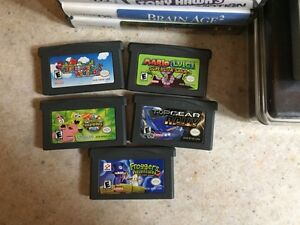 Nintendo ds lite, 10 games and a hard case  London Ontario image 5