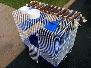 Grande Cage pour rongeurs ou rats 60$