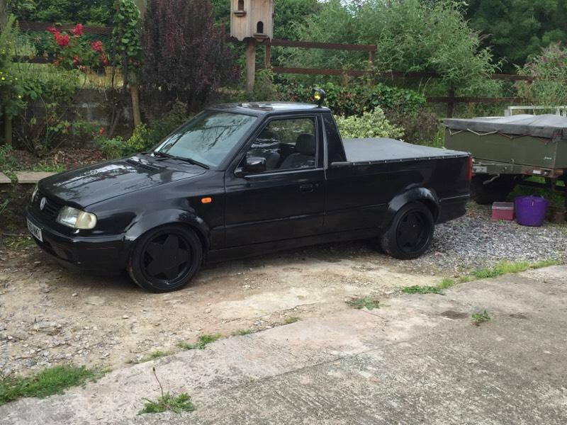 vw caddy pickup wide arches borbet a 39 s mk2 not mk1 swap px in buckfastleigh devon gumtree. Black Bedroom Furniture Sets. Home Design Ideas