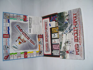 POND HOCKEY-OPOLY BOARD GAME