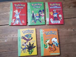 12 Livres Pokemon (+2 en bonus)