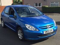 BARGAIN!!/PEUGEOT 307 1.6//MOT-MARCH 2017//BEAUTIFUL