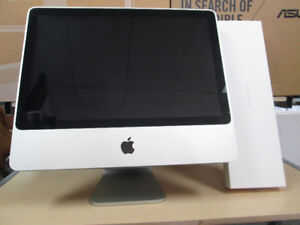 iMAC (20-inch,  MID 2007) WITH NEW APPLE KEYBOARD AND MOUSE
