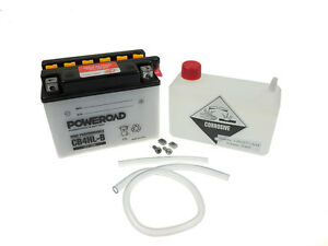 Batterie YB4L-B 5AH Poweroad Aprilia RS 50 Extrema/Replica PG000 Bj. 1999-2001