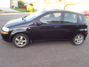 CHEVY AVEO WITH 1.6L ENGINE Great on gas