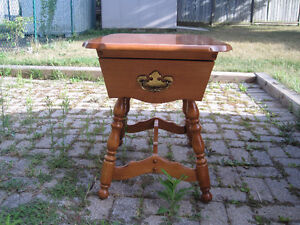 Wood Side/end Table With Drawer