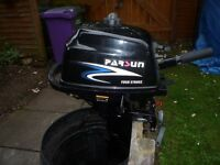 Parsun 2.6 Hp 4 Stroke Short Shaft Outboard Engine